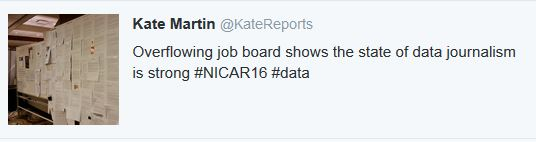 job boards at nicar